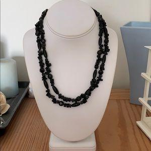 Jewelry - 💰2/$30💰Onyx necklace